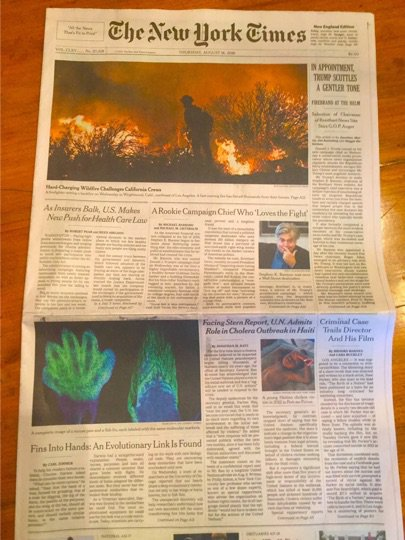 This front page @nytimes story resulted from graduate programs  @NSF lost to budget cuts today.  Sad day for student research  #DDIGstory https://t.co/aXuBctVieQ