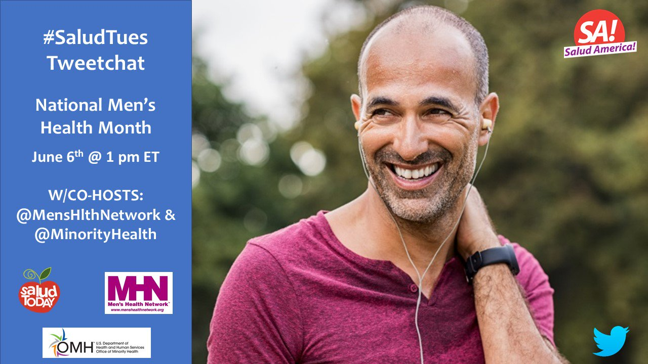 Thumbnail for #SaludTues 6/6: National Men's Health Month