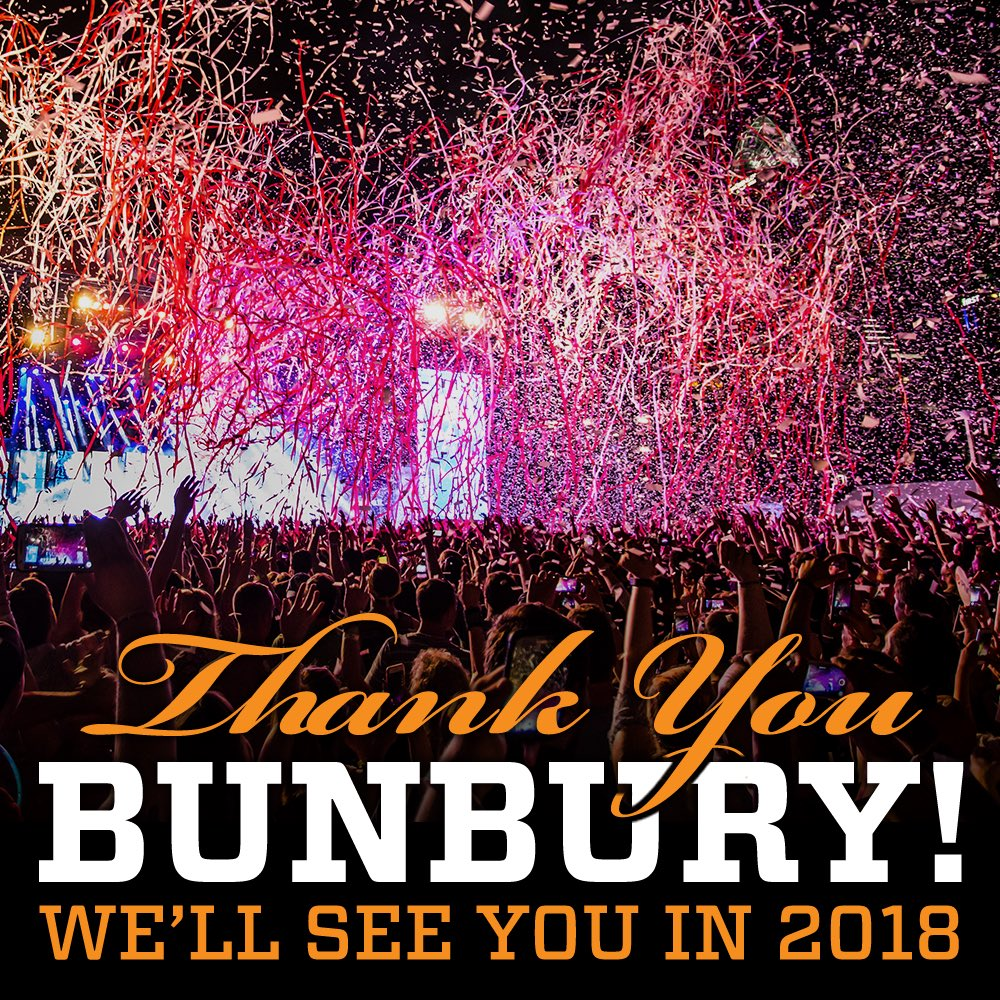 Bunbury Festival on Twitter: