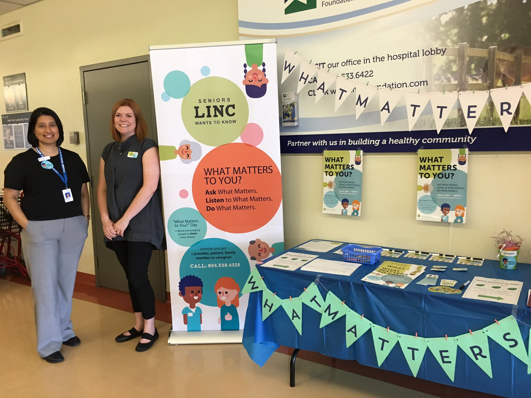 Kudos #langleymemorialhospital #WMTY17 organizers Alita &Alana! @Fraserhealth @PatientVoicesBC @BCPSQC Fun 1st stop. Great energy! https://t.co/dKCncE6Gck