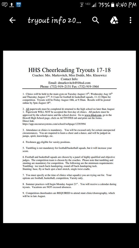 Howell Hs Cheer (@Deemarko) | Twitter