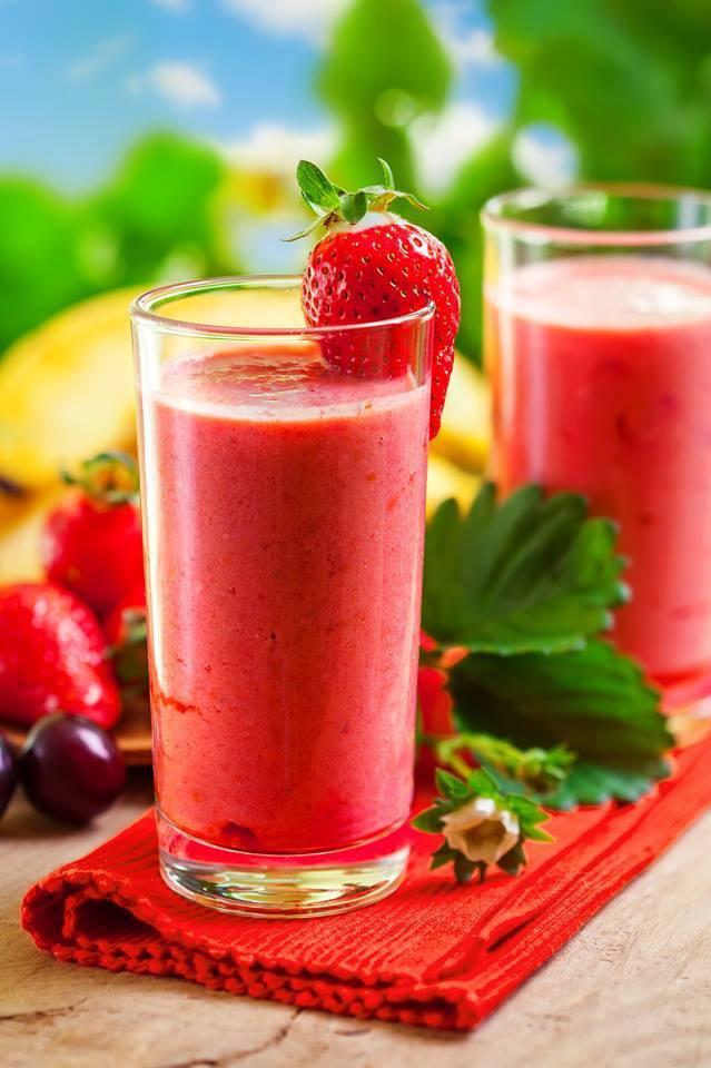 "cuisine et mets on twitter: ""smoothie fraises, cerises et banane"