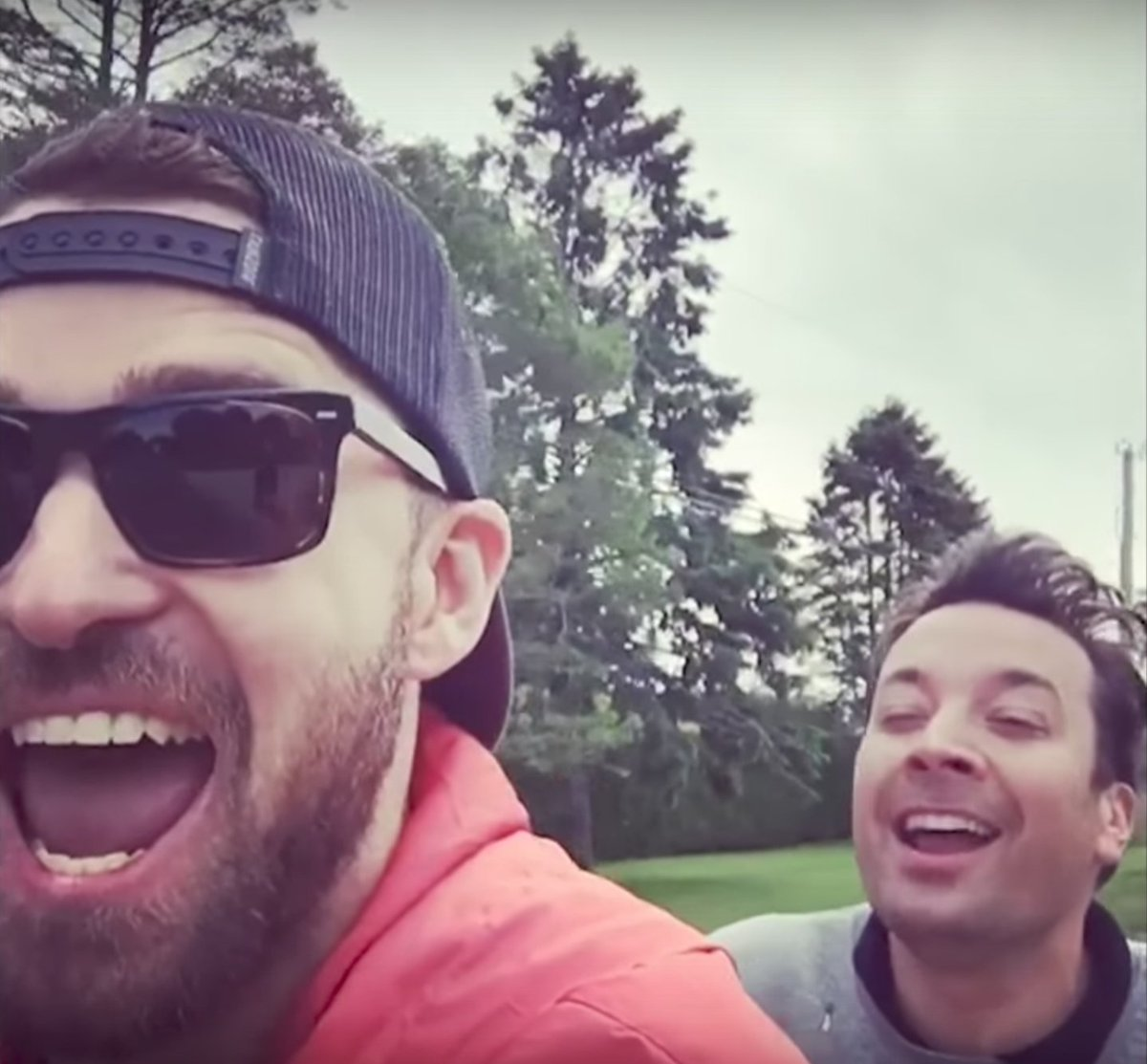 Watch @JimmyFallon and @JTimberlake go '...