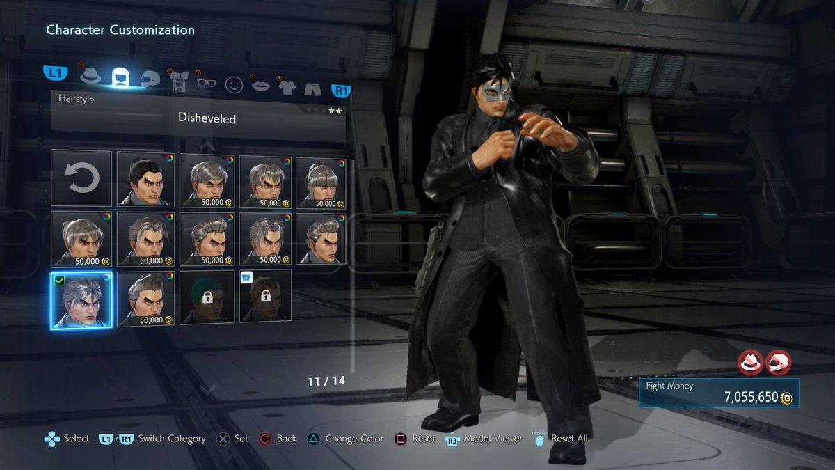 Tekken 7 Share Customizations Thread Neogaf
