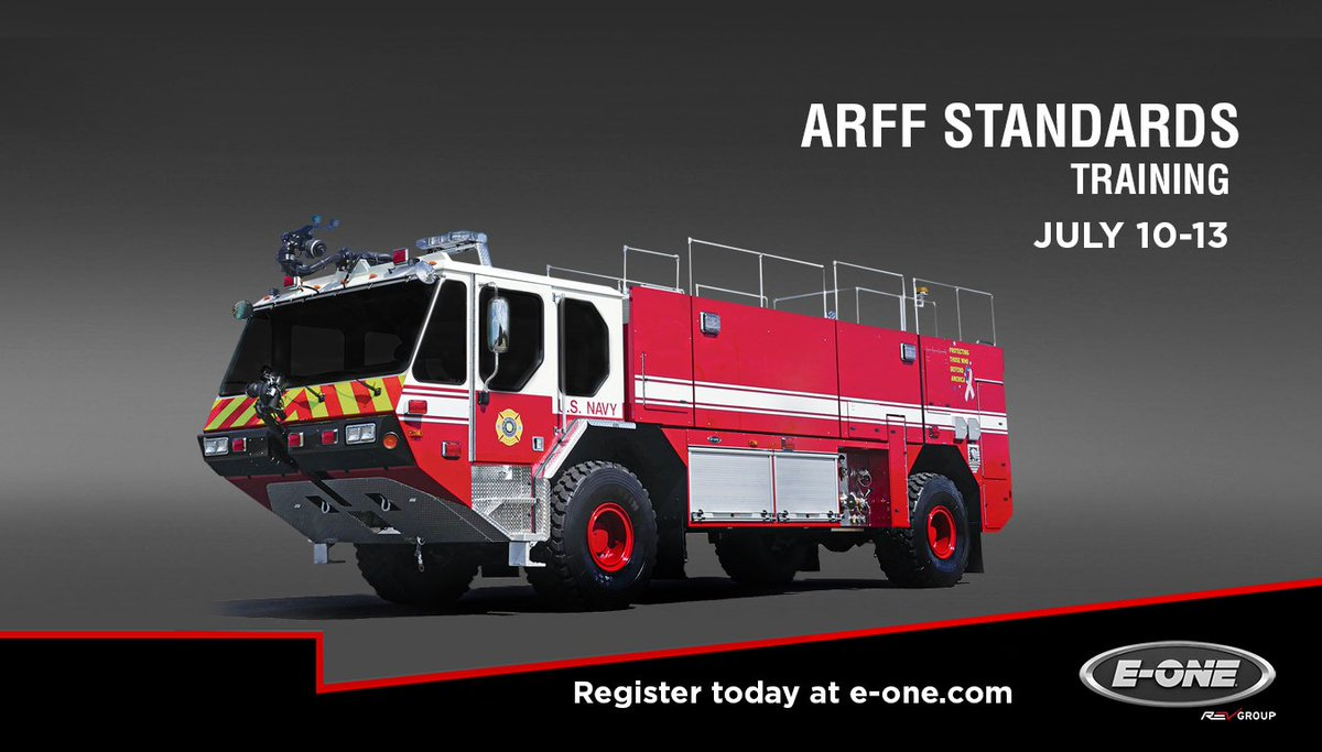 E One Fire Trucks On Twitter Register Now For Arff Design