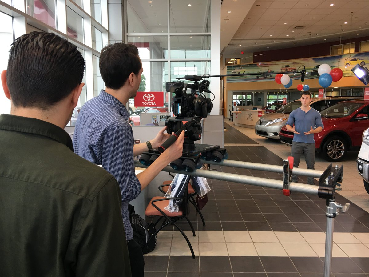gcv productions on twitter here s a look at today s commercial
