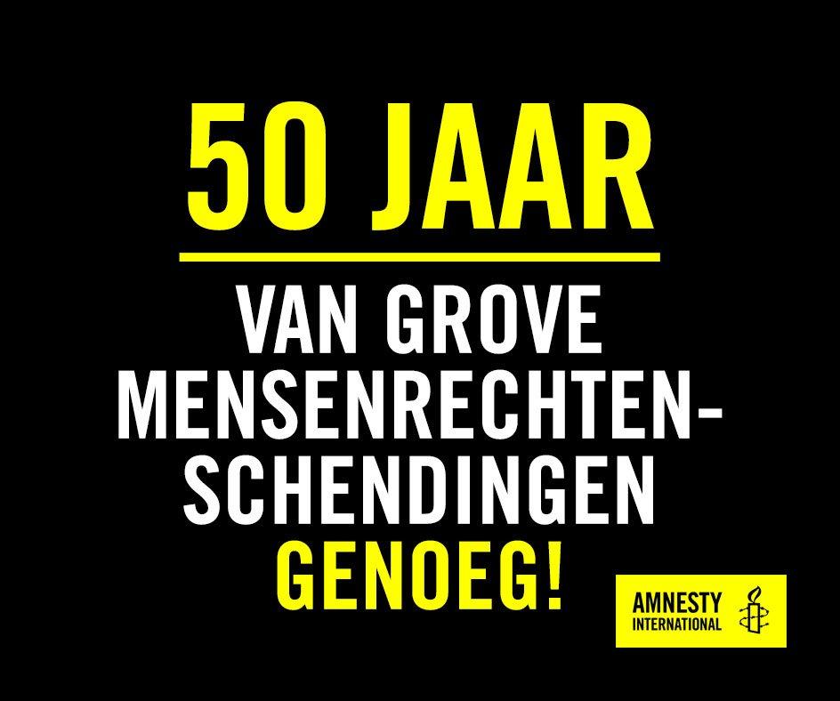 50 jaar amnesty Amnesty International Vlaanderen on Twitter: