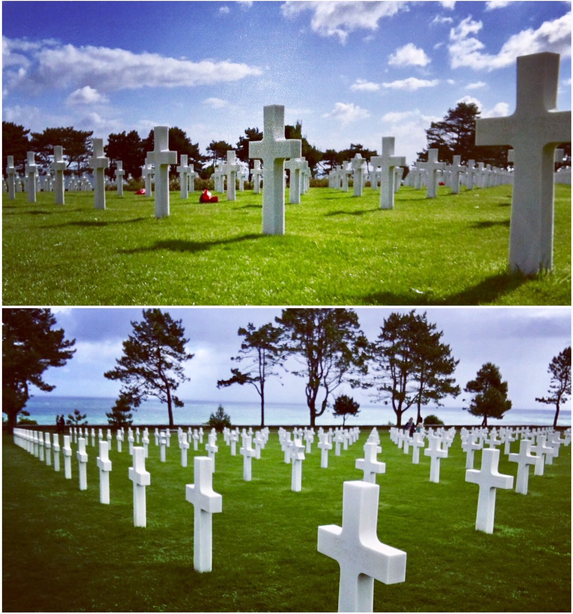 American Cemetery, Normandy. #dday Rest Easy. The world salutes you. @WWIImuseum #omahabeach https://t.co/0Pg6YsFcSi