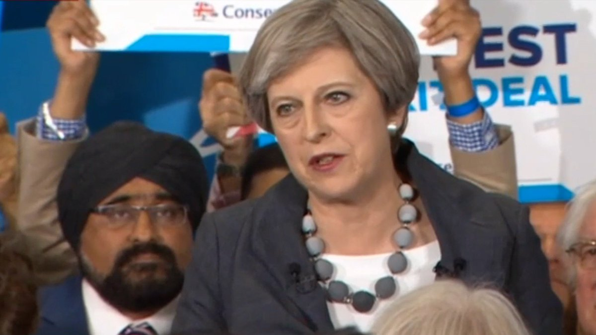Theresa May: UK will change human rights laws if needed for terror fight