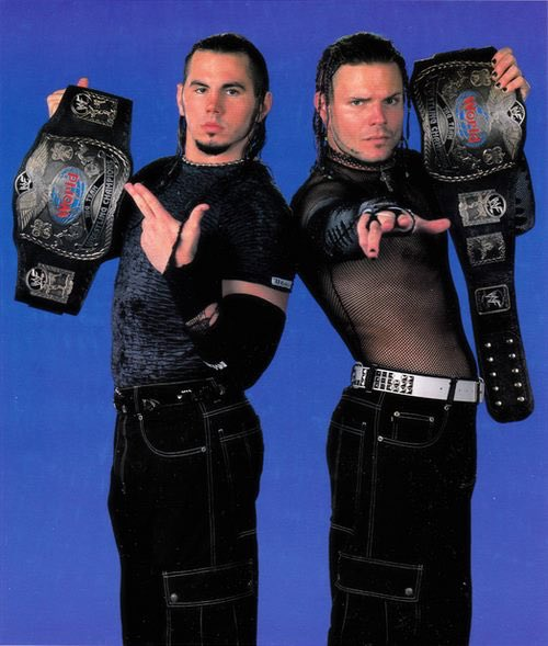 2000 7 - Reborn By Fate On Twitter The Hardys Are The Only Team To Win Wwe Tag Titles In Different Decades - 2000 7
