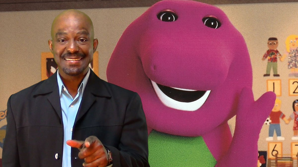 This man played Barney the dinosaur for 10 years — here's what it was like