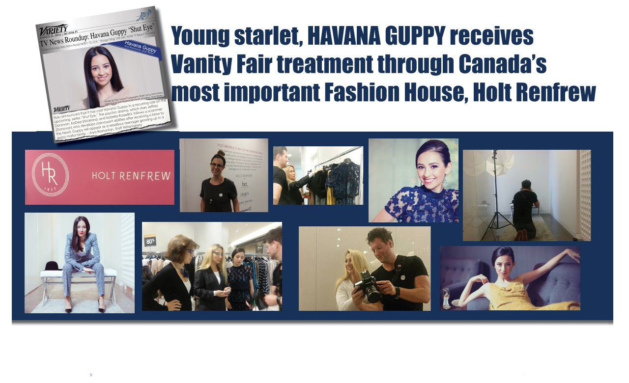 We remember and appreciate all of the talents that came together to give @HavanaGuppy this #Publicity Fashion Shoot at #HoltRenfrewVancouver https://t.co/fiDbqf4JkH