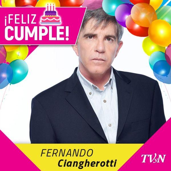 Hoy también es cumpleaños del gran actor Fernando Ciangherotti. ¡Felicidades! https://t.co/T76DTDThoD