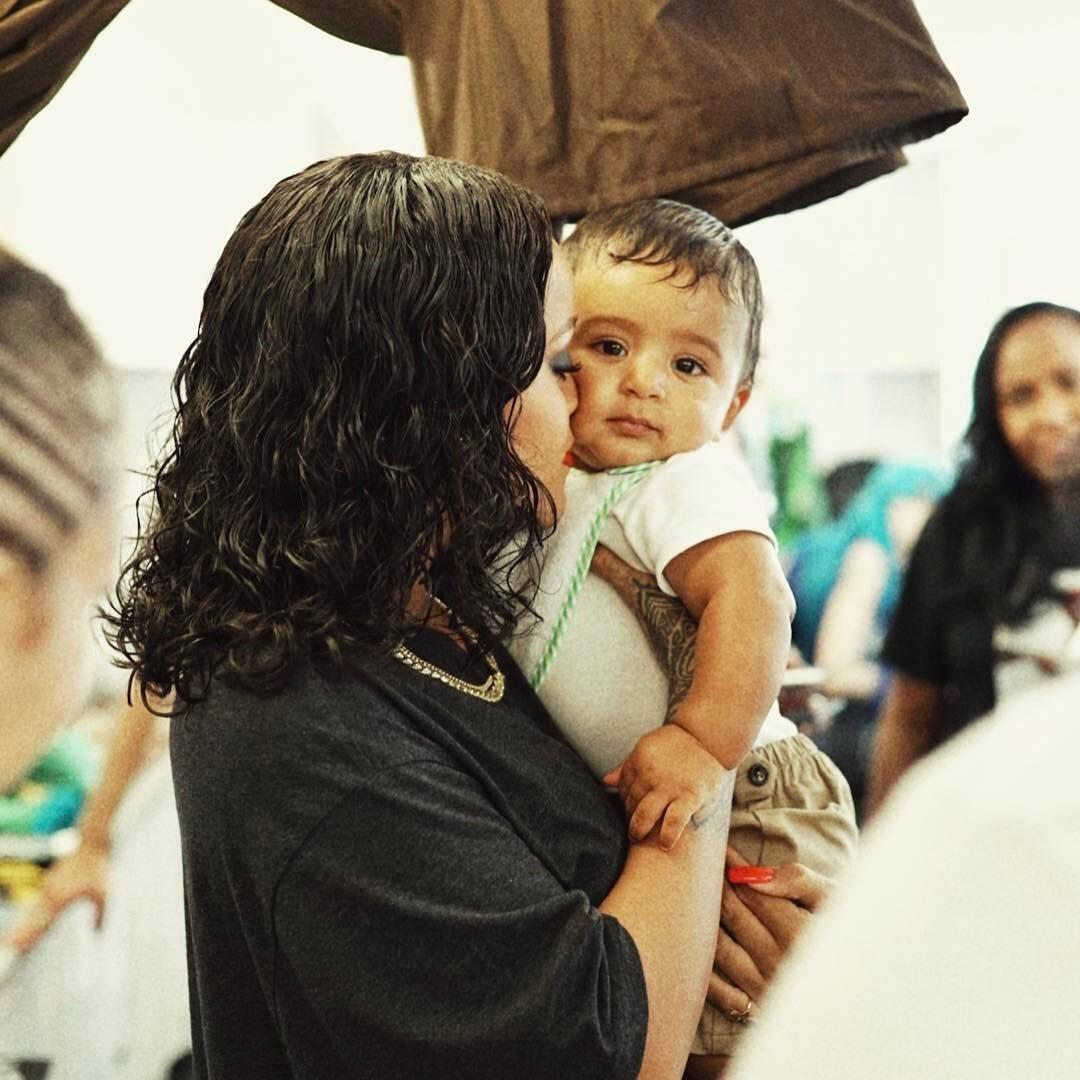 Rihanna with DJ Khaled's son ❤️ https://t.co/rfRef4zJsF