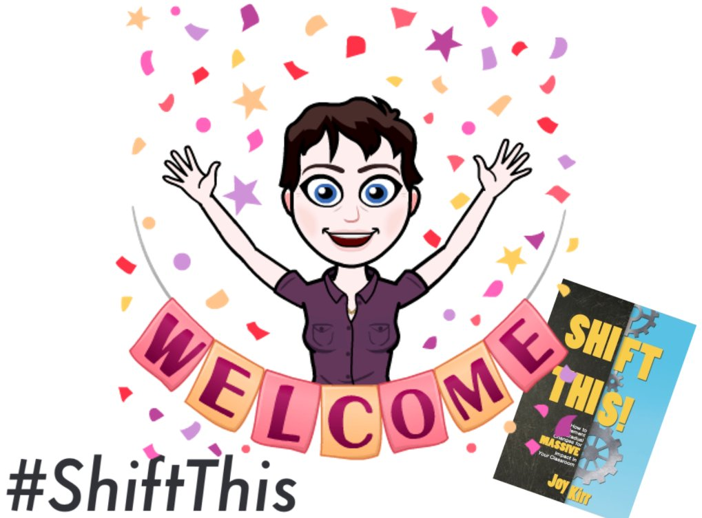 Welcome to Week 1 of the #ShiftThis book study! Tell us who you are and how you begin your school day. Questions: https://t.co/GLoxaknDSb https://t.co/moDSIb1i2v