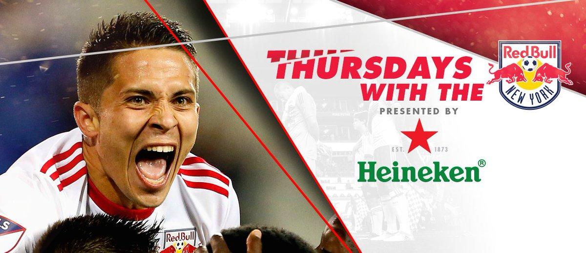 Image result for Thursdays with the New York Red Bulls Heineken