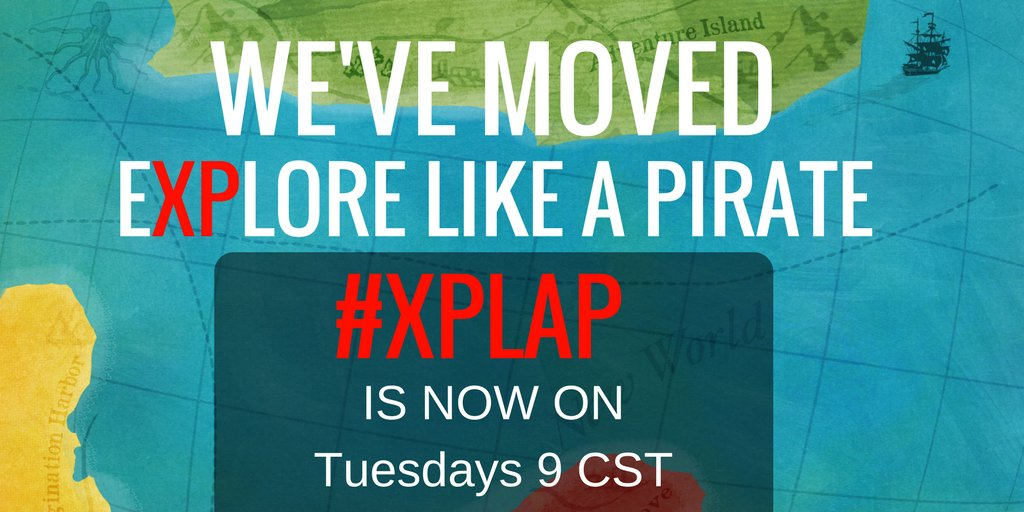 JOIN #XPLAP in 10 minutes... New Time, Same Great #PLN https://t.co/z1u4IbvKvx