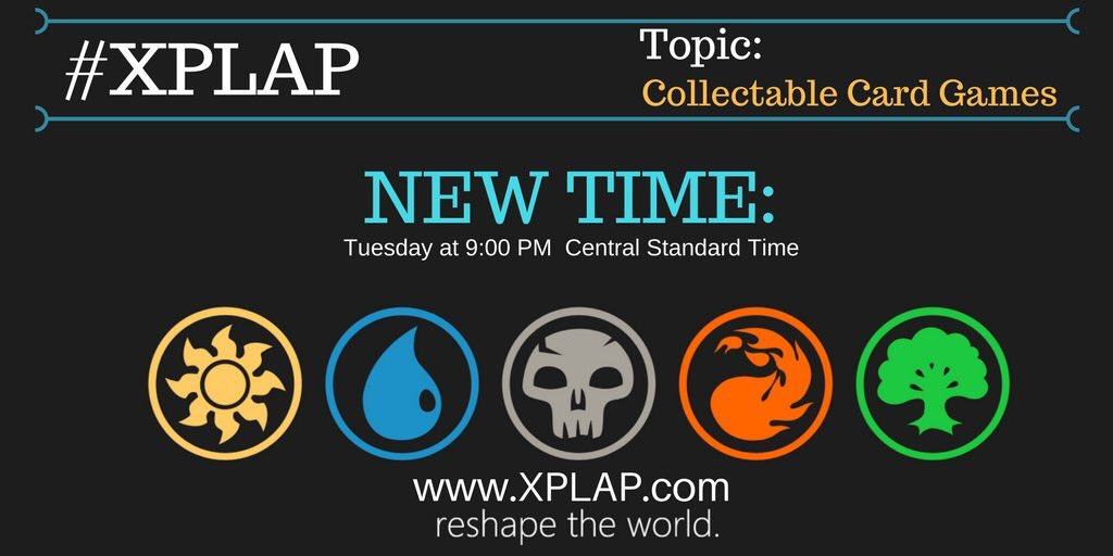 Tonight we are chatting about collecting cards on #XPLAP!  Join us RIGHT NOW at our new day and time! #ditchbook #tlap https://t.co/g98QjtwDjs