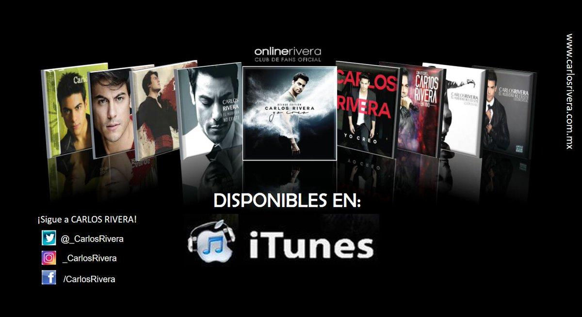 El nuevo álbum de @_CarlosRivera es #YoCreo escucha toda su música en...