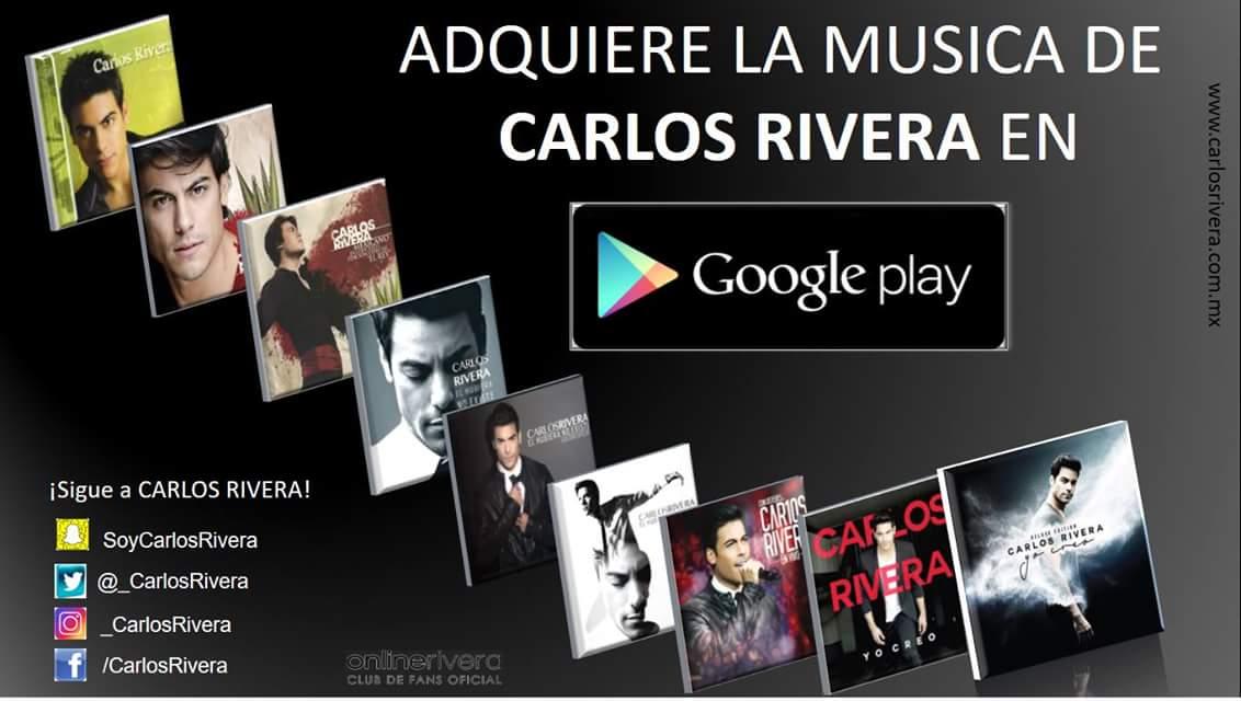 El nuevo álbum de @_CarlosRivera #YoCreo y toda su música disponible e...