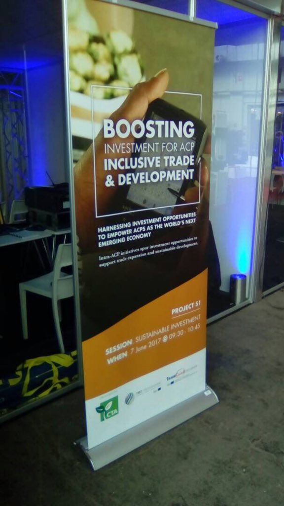 First order of business today at @CTABrussels #EDD17 is boosting Trade and investment. Twitting live @IncubationTv @FAOAfrica @AAINOnline https://t.co/FNArk8k3aA