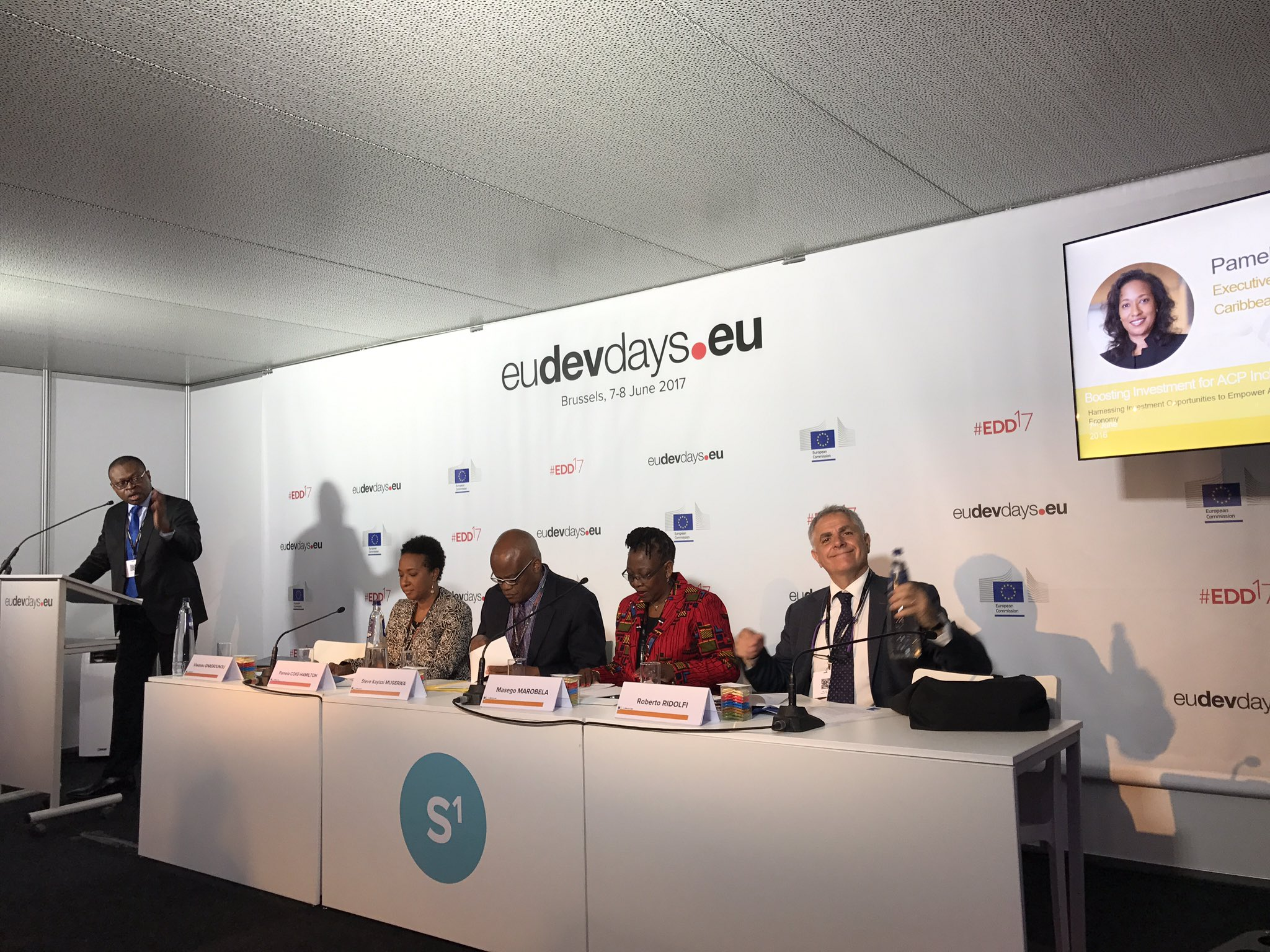 How to harness #ACP countries potential?➡️#research applied to #sustainable #investment to create #decent #jobs #EDD17 @europeaid https://t.co/amt88nevdB