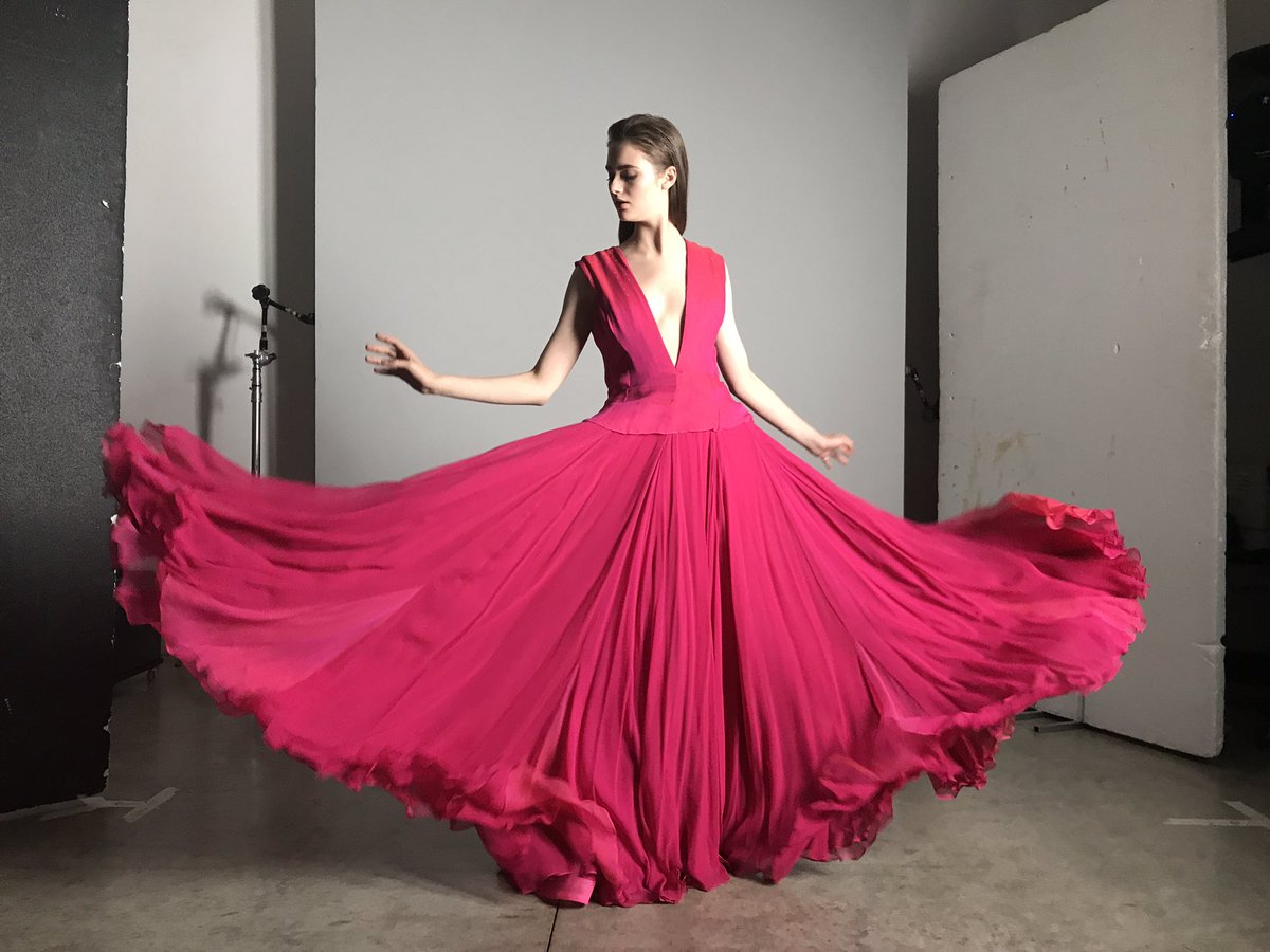 Cutecircuit twitter dress colors