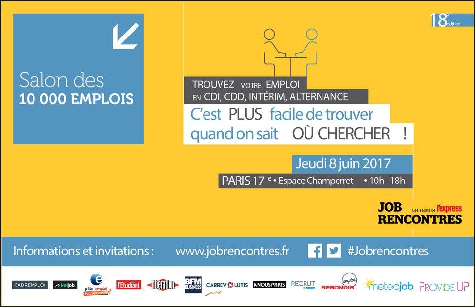 Paris : porte de Champerret, ça recrute!