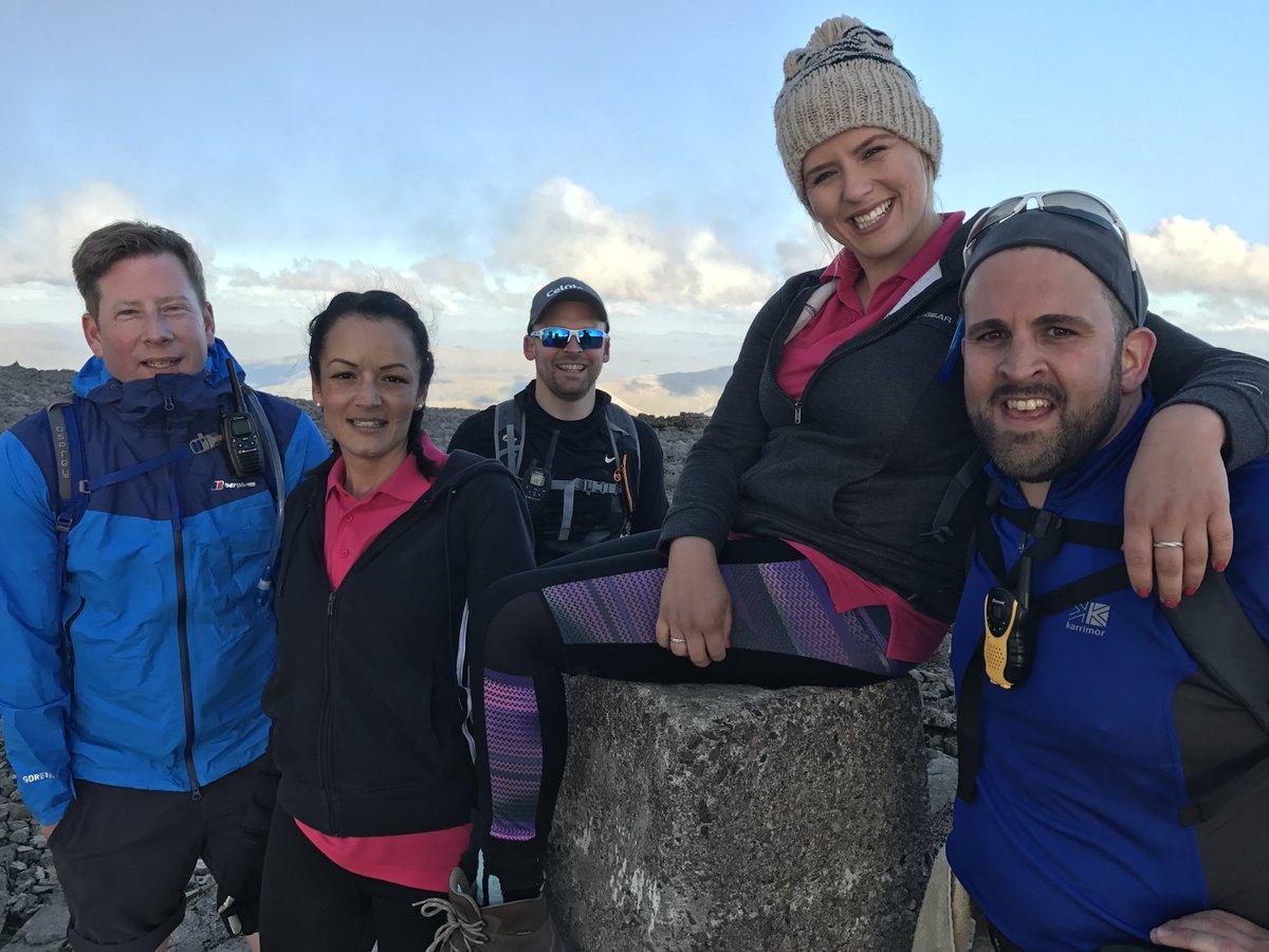 Team Celotex & @Bradfords_Build completed the #3PeaksChallenge raising £2390 for @barnardos & @macmillancancer https://t.co/seJ0VHsoaV https://t.co/w9G09rc93j