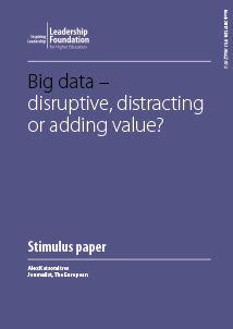 New research; 'Big data, disruptive, distracting or adding value? Alex Katsomitros. Available now here: https://t.co/HiPNNmWvAY #ETConf17 https://t.co/RricYOUi5K