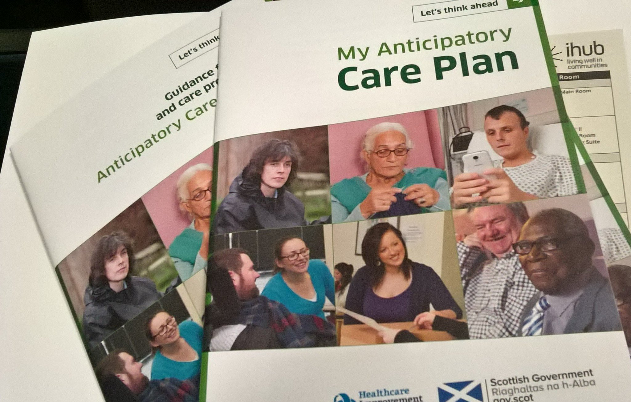 Today marks the launch of the national Anticipatory Care Planning document and app at an event in Edinburgh. #acplaunch https://t.co/icCxF6fqyl
