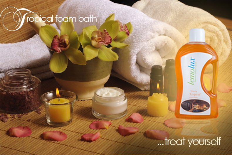 Quickly dash out to your nearest PicknPay on your lunch break and treat yourself to our Tropical foam bath or go on http://chemfresh.co.za