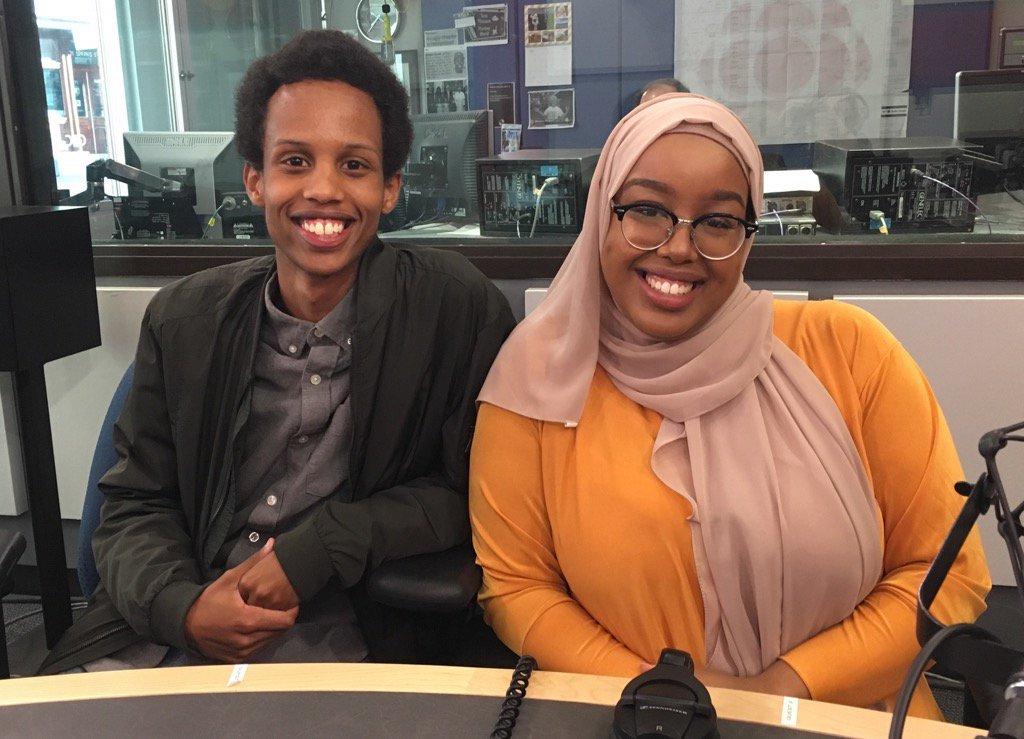 Young Somali-Cdns Gargaar Farrah & Ifrah Yusuf helping organize fundraising Iftar for famine relief. https://t.co/wMd0G5v0Nt