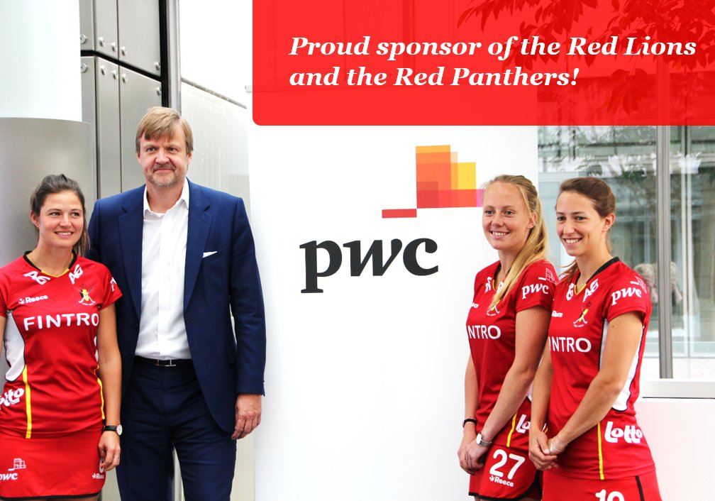 PwC is the new sponsor of the country's national field hockey teams! Professionalism, quality, creativity & agility: an ideal match with PwC