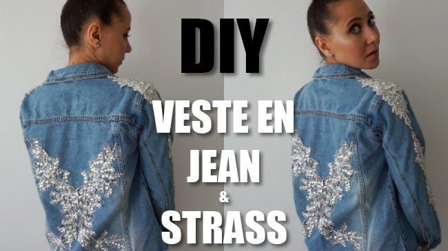 DIY Veste en jean avec StrassColashood2