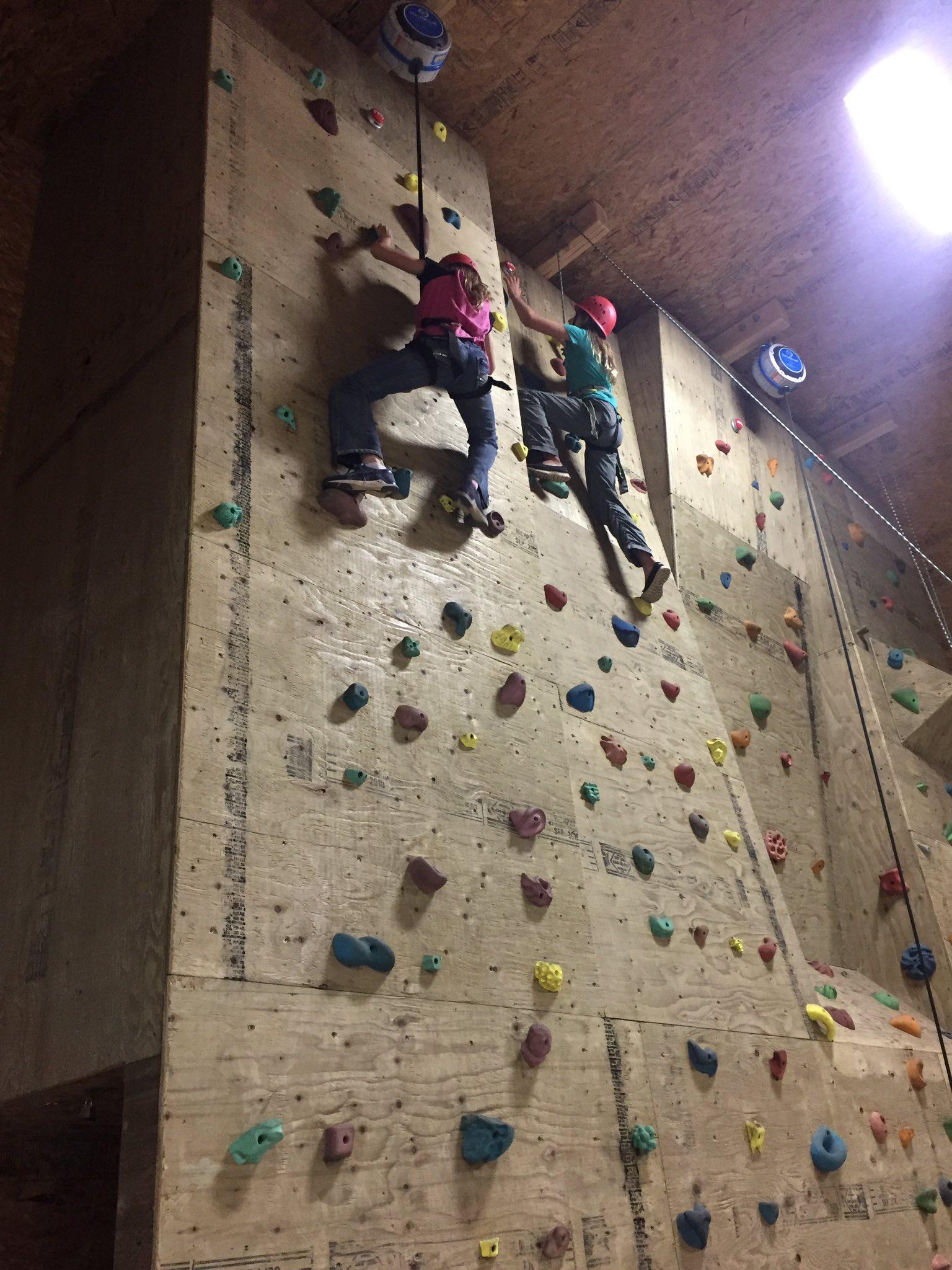 #donsch camping trip - wall climbing https://t.co/dxrhr9IGxz
