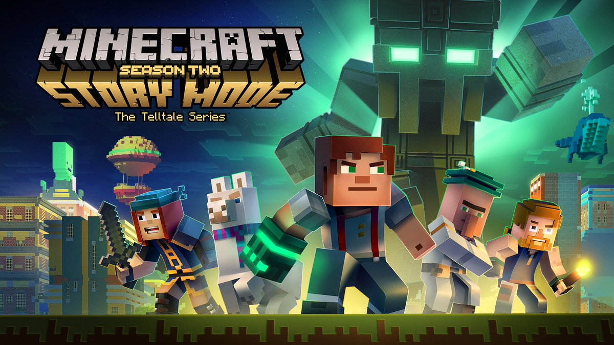 Minecraft On Twitter Guess What Story Mode Season 2 Is A