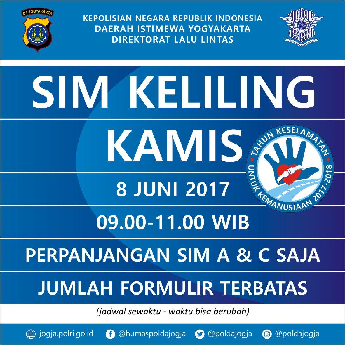 Polda Di Yogyakarta в Twitter Untuk Syarat2 Sim Lama