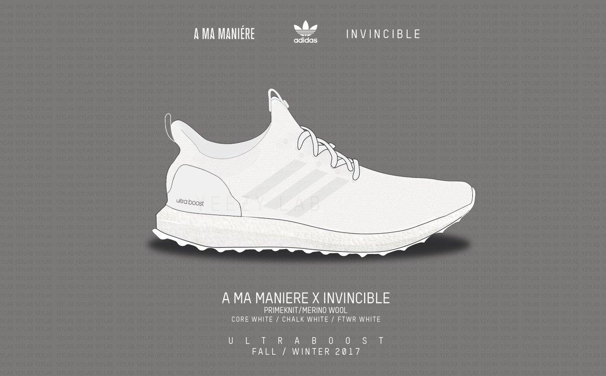 promo code 2ddcb 303b8 ... Yeezy Lab on Twitter The INVINCIBLE x A Ma Maniere x adidas ...