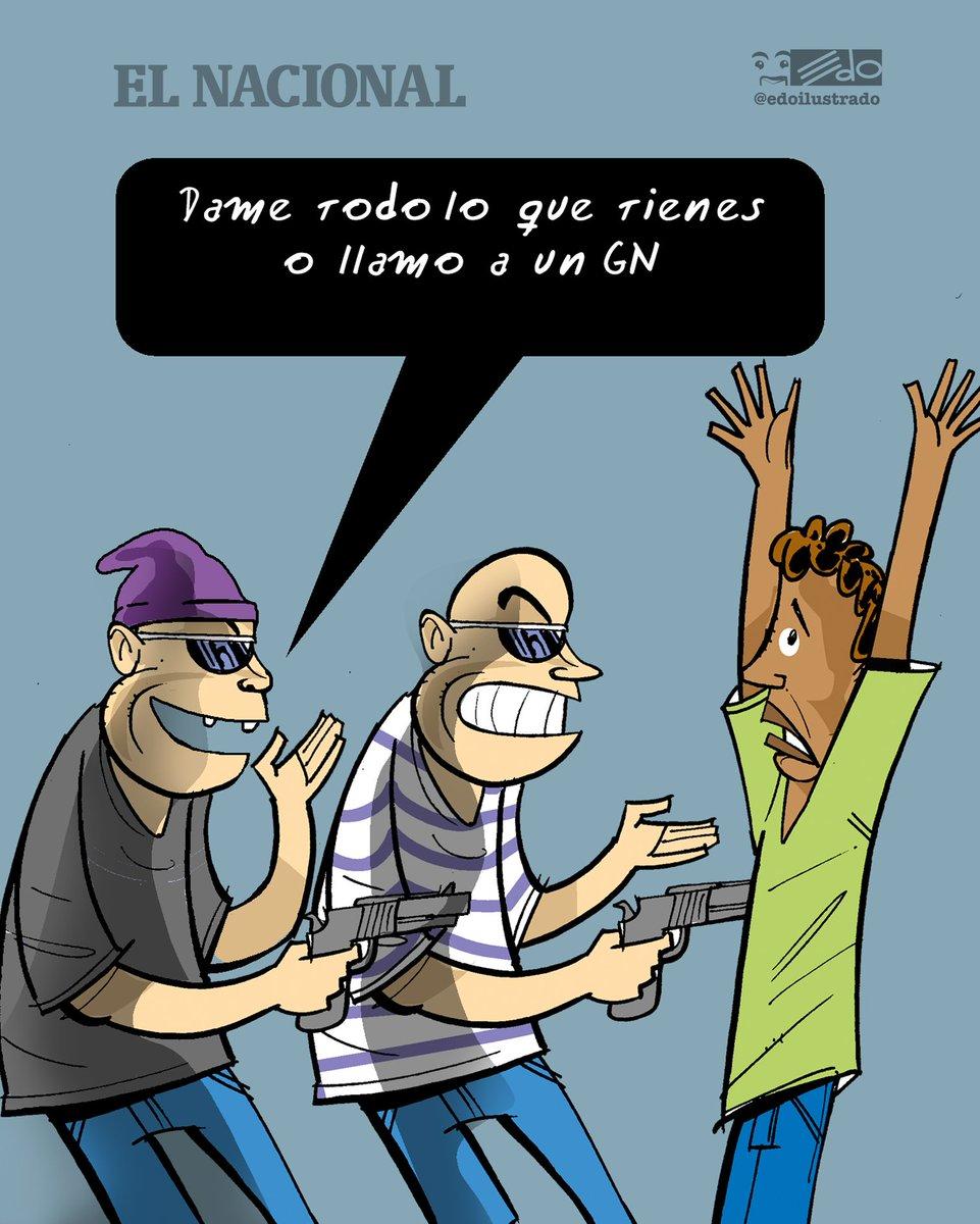 Caricatura EDO para @ElNacionalWeb ATRACO