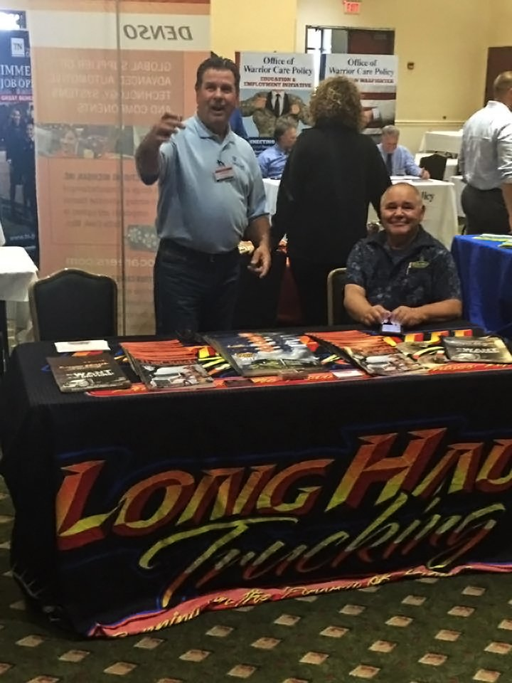 LHT recruiting all set up in Fort Campbell, KY! #wehirevets