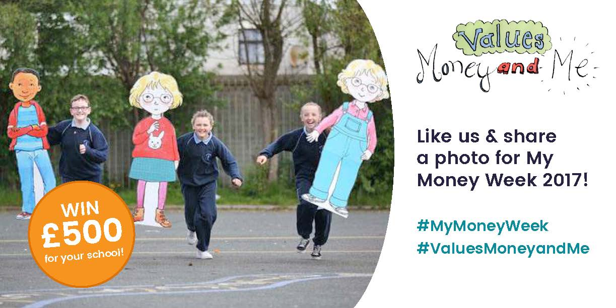 #MyMoneyWeek is next week! Tweet us a picture of your pupils celebrating + your school name and your school could win £500! #ValuesMoneyAn … https://t.co/O9KlXok9c2