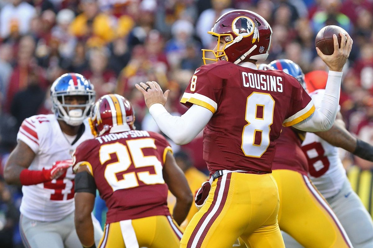 If the #Redskins beat the #Giants in week 17 &amp; punched a ticket to the playoffs, would the Cousins contract be done?  http:// bit.ly/2sSa2pK  &nbsp;  <br>http://pic.twitter.com/GZJXo5eRz6