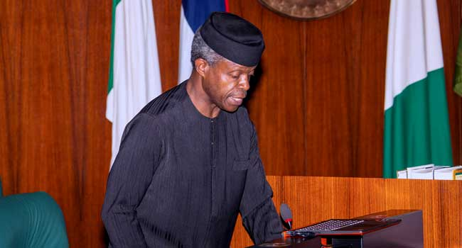 Today Acting President Prof Osinbajo presided over the Federal Executive Council (FEC) Meeting, at the State House, 14th June 2017.