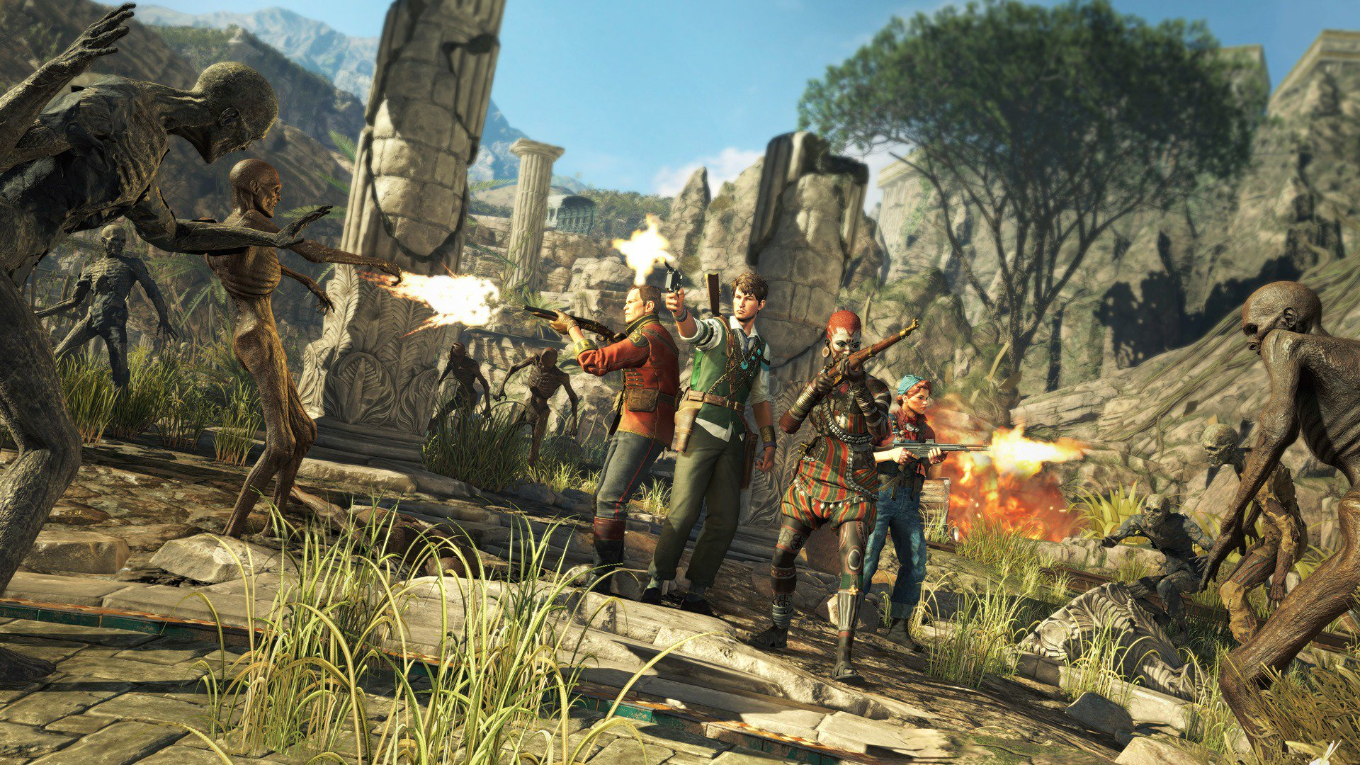 Rebellion Announced Strange Brigade For PC PS4, & Xbox One