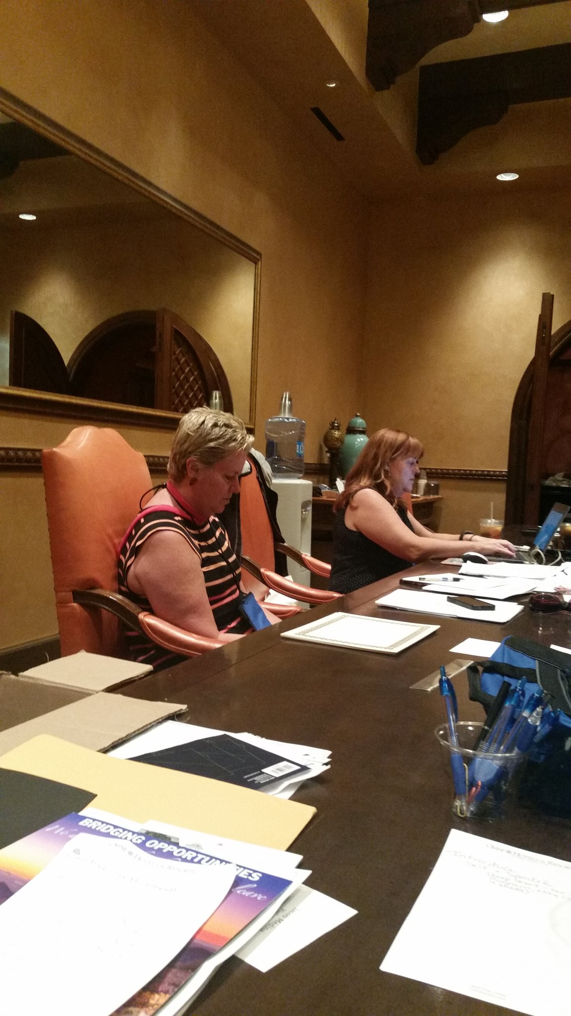 Rosemary and Sandy working hard on the AAAED conference in Scottsdale https://t.co/bNg5lKMcRY https://t.co/6iQWp9l1ZY