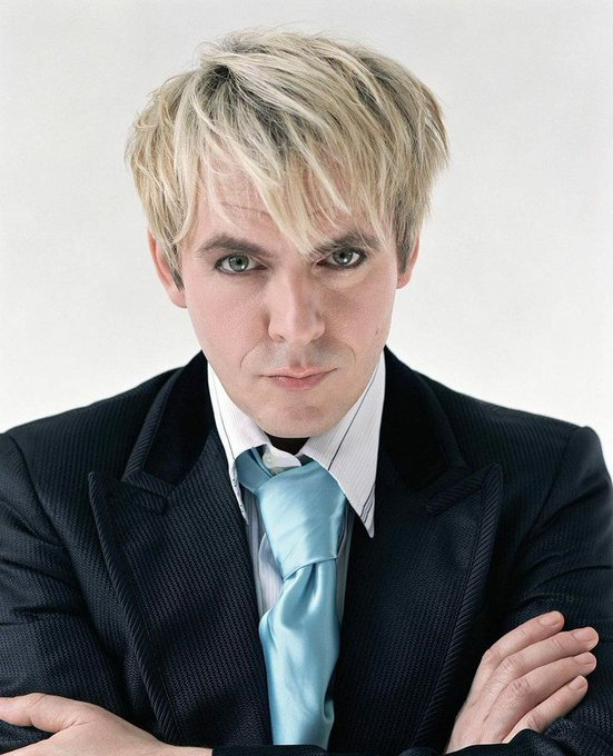 Born on this day in 1962 in Moseley, UK, keyboard player Nick Rhodes. Happy 55th birthday!