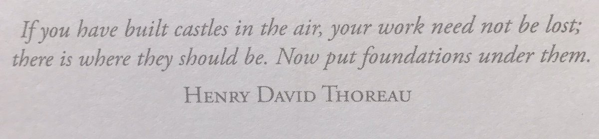 This quote from my planner is speaking volumes to me right now #InspirationalQuotes #inspirational #HenryDavidThoreu https://t.co/eaFrjOSLbg
