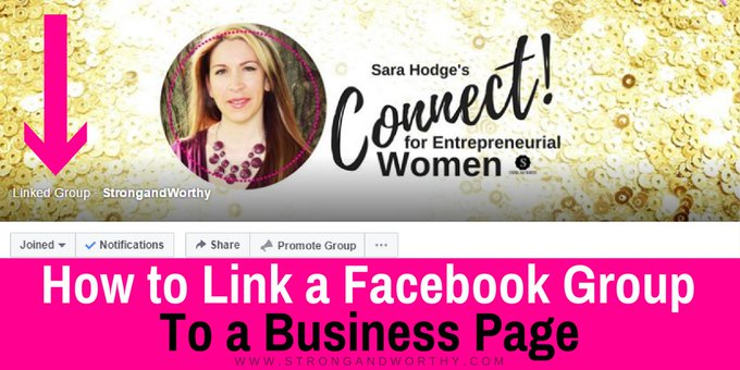 How to Link a Facebook Group to a Business Page