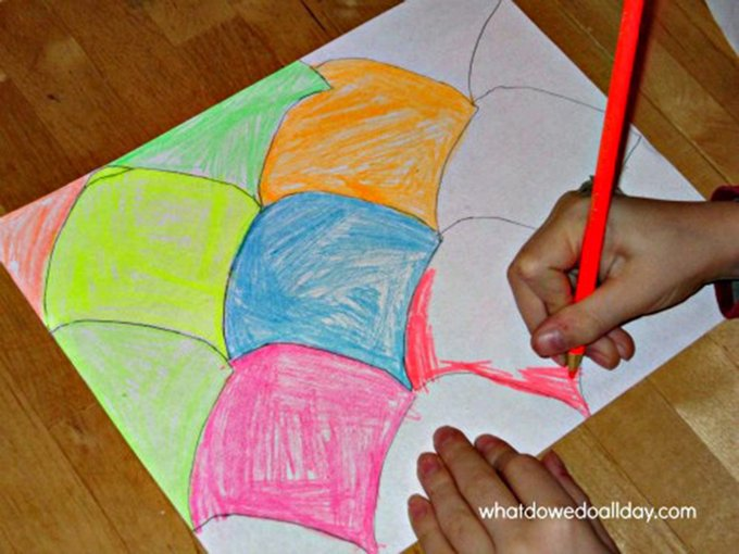 The Easy Way to Make Groovy Tessellations with Kids